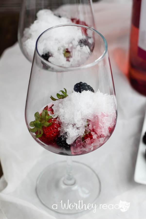 Pink Moscato & Rum Slush-10