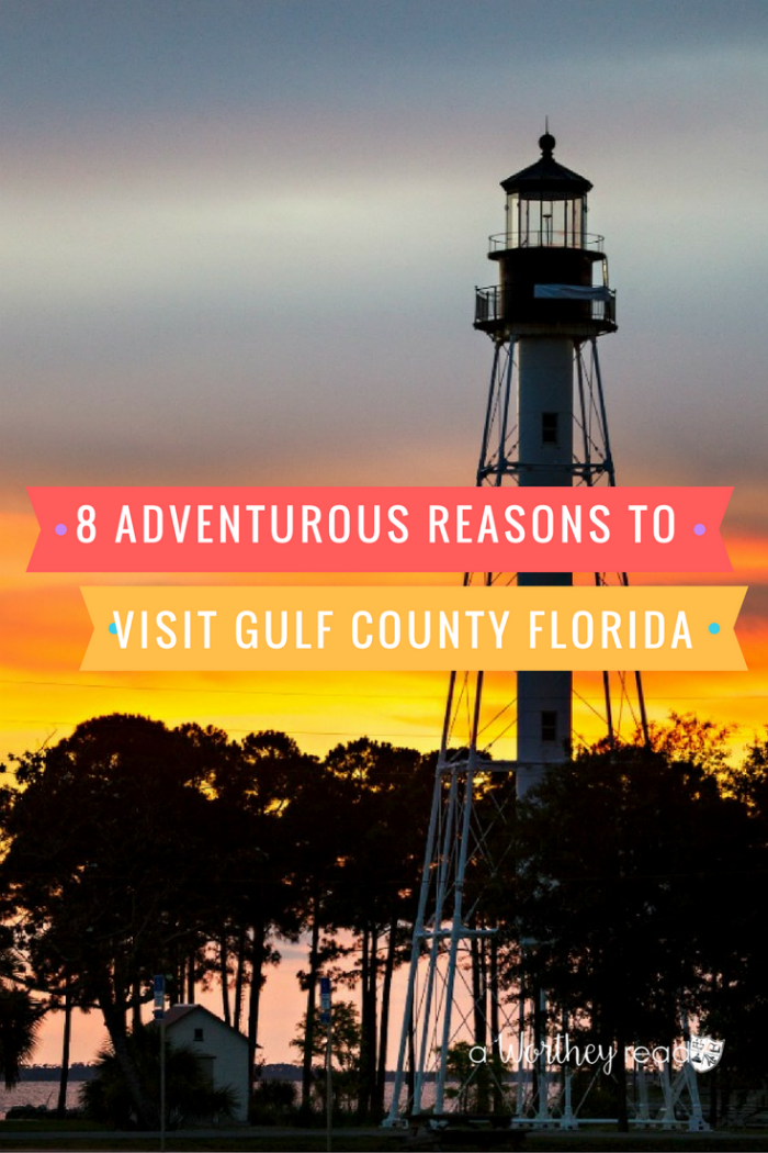 Love adventurous type of vacations? Gulf County Florida is the vacation destination for adventure! Read my 8 Adventurous Reasons To Visit Gulf County FL!
