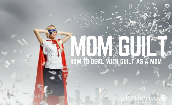 It's easy to get Mom Guilt. We always feel we are not doing enough for the kids, husband, etc. I have a solution on how to deal with guilt as a Mom! Click through to read my thoughts on Mom Guilt