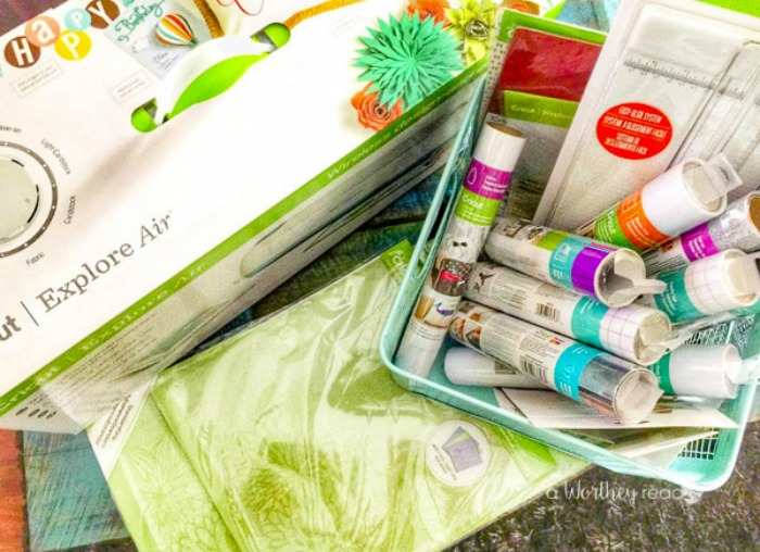 I've owned a few cutting machines, including other Cricut brands. Read my thoughts on the Cricut Explore Air and why I couldn't use this machine.