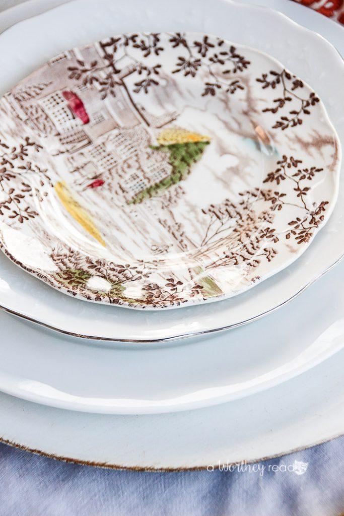 Thanksgiving Table Decor Idea