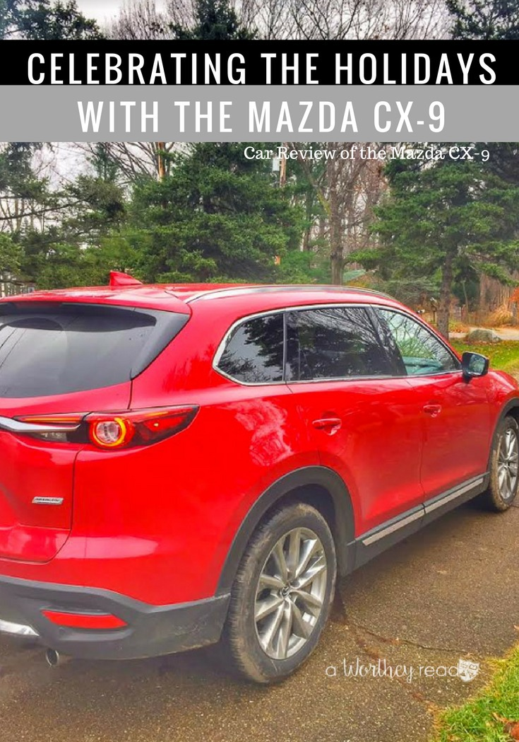 Holidays is the perfect time to spend with the ones you love. Enjoy delicious food and spend quality time with your loved ones. See how we're celebrating the holidays this year with the Mazda CX-9 (car review), plus a sneak peek at our 2016 Red & White Vintage Christmas Tree!