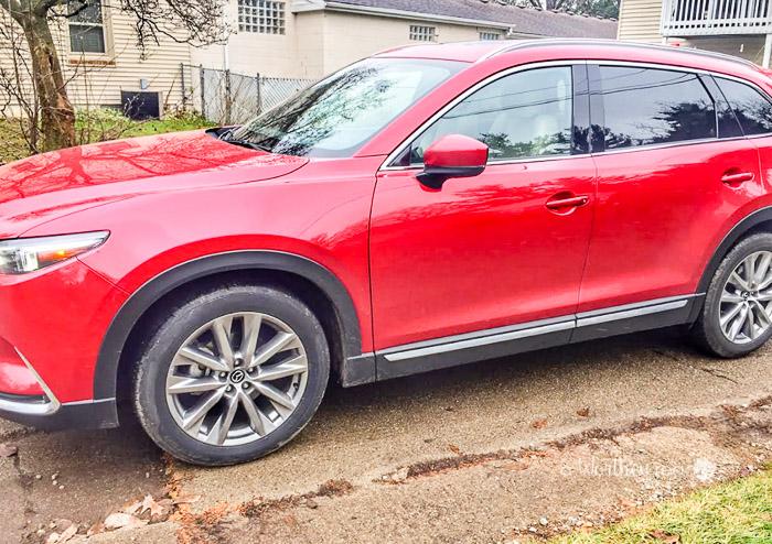 Maxda CX9 car review