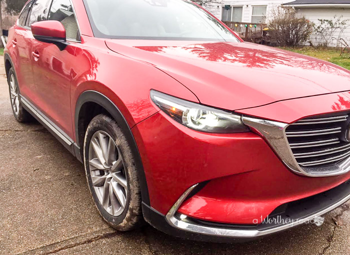 Thanksgiving and Mazda CX-9