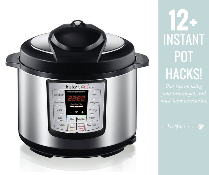 Having an Instant Pot is a great way to save time on preparing meals. A pressure cooker cuts meal prep in half, and is a necessity in today's household. Learn how to use your Instant Pot with our instant pot hacks. Plus, tips on getting started and must-have pressure cooker accessories.