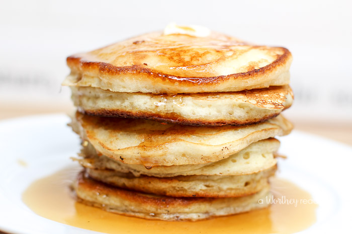 The Best Buttermilk + Cornmeal Pancakes - This Worthey Life - Linkis ...