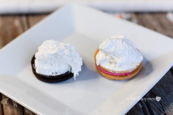 Unicorn Food Oreo Cookie Parfait