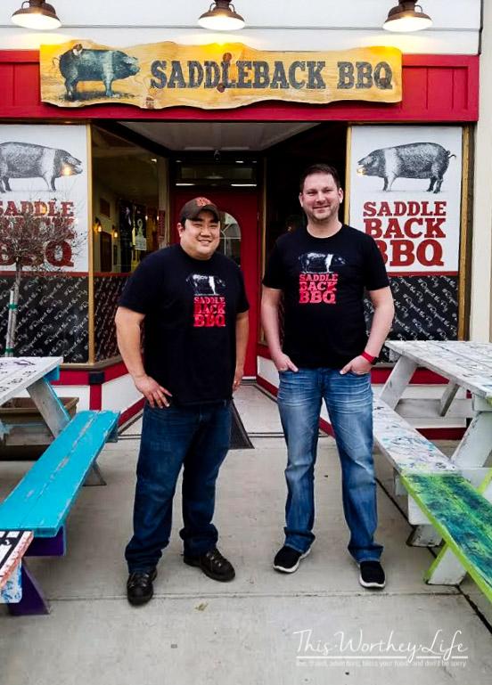 Saddleback BBQ restaurant REO Town