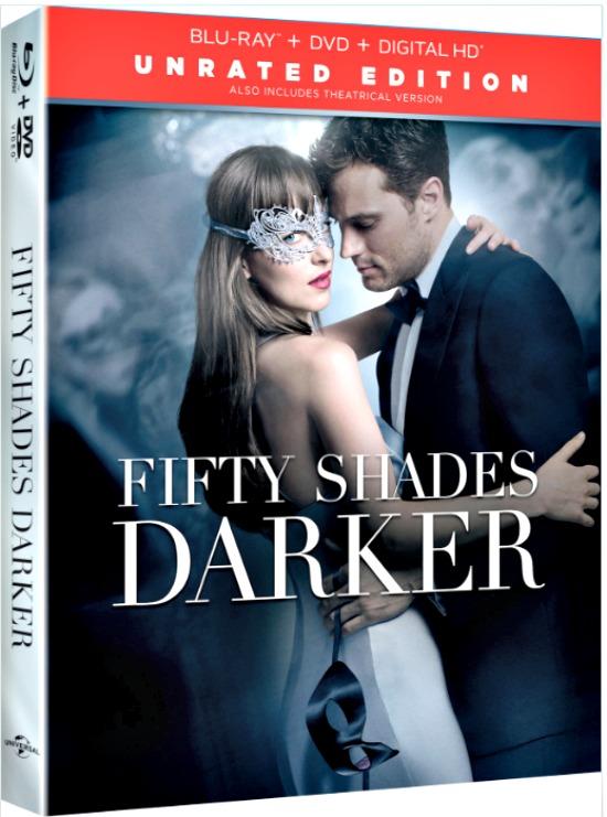 50 Shades Darker DVD