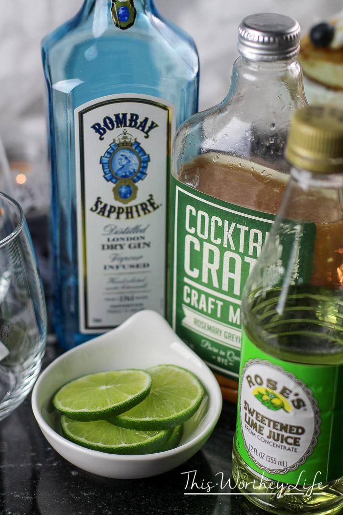 Love Potion No. Grey Cocktail