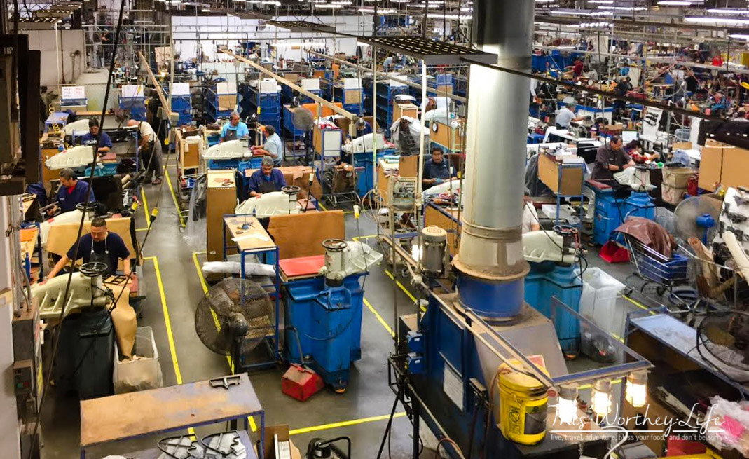 Lucchese Boot Factory in El Paso