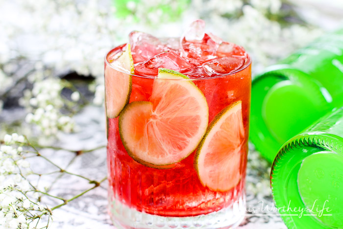 Apple-Cran Splash Cocktail