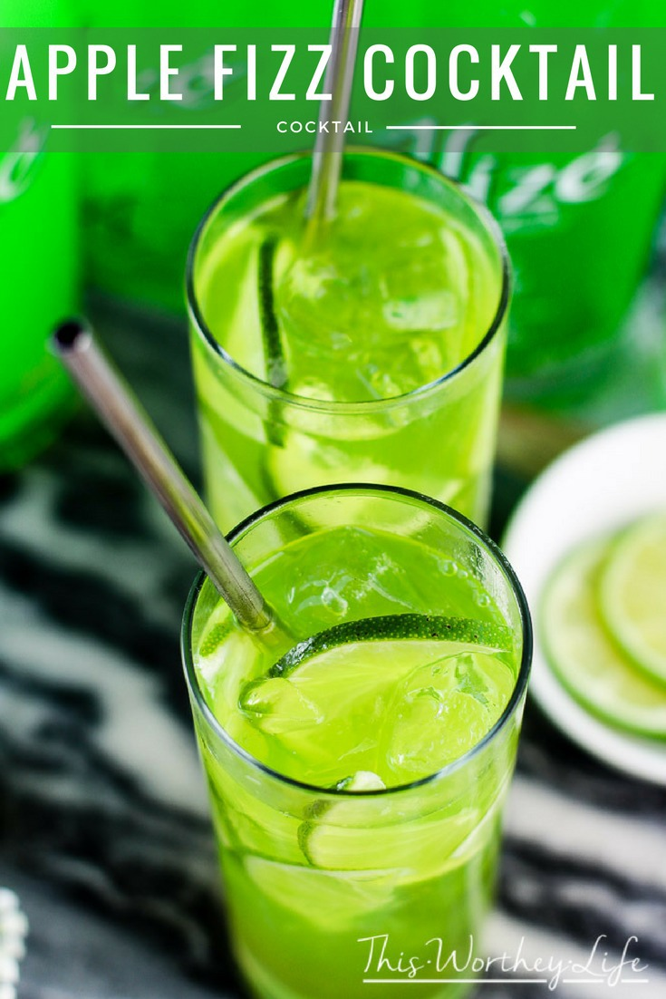 Apple Fizz Cocktail