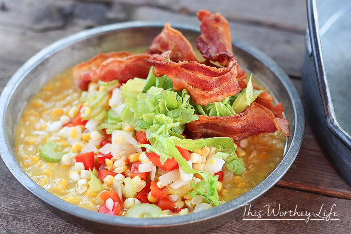 Bacon Corn Salad Recipe