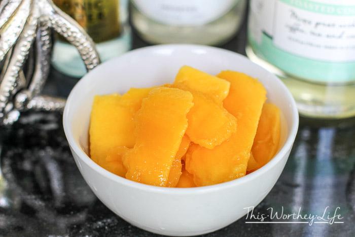 Pirates of the Caribbean Lemon-Rum Mango Slush