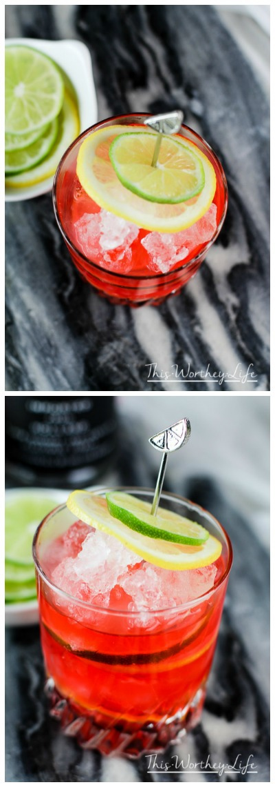 Mix a little dry ice, vodka, cherry and lime to make this summer time cocktail- Cherry Lemon-Lime Spritzer Cocktail
