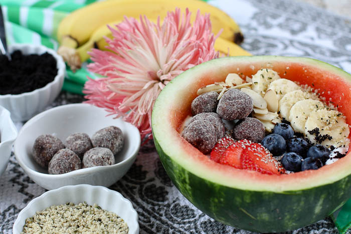 Fruit Yogurt + Watermelon Bow