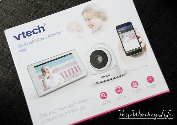VTech VM981 Wi-Fi HD Video Monitor and Camera