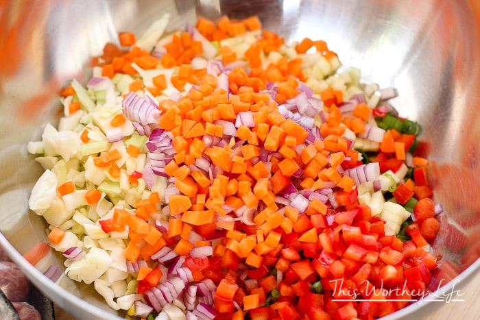 Bratwurst Springrolls Recipe
