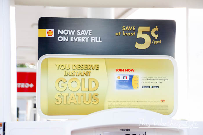 Shell Fuel Rewards Instant Gold Status program