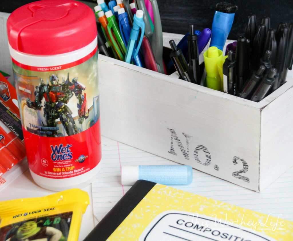 Back to school essnetials for middle school kids