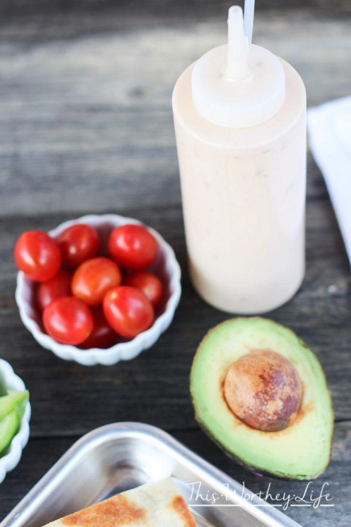 Easy Nacho Recipe with Avocado Idea