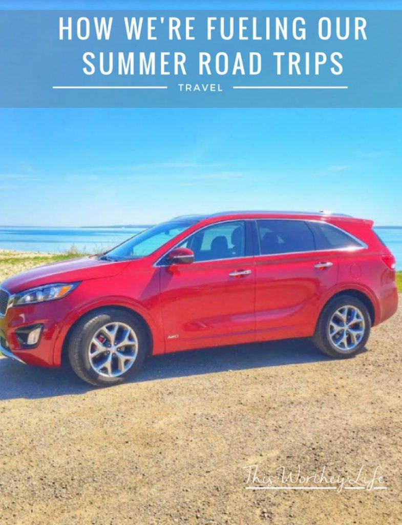 Looking for the best tips on how to save on gas? Be sure to read my post on now we're fueling our road trips this summer with this one huge savings tip!