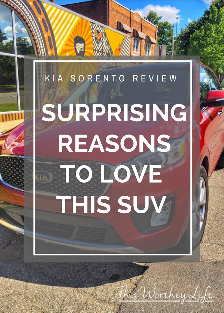 The KIA Sorento is one of the best crossover SUV's on the market. You can read our car review of the 2017 KIA Sorento, and see all of the reasons to love this SUV.