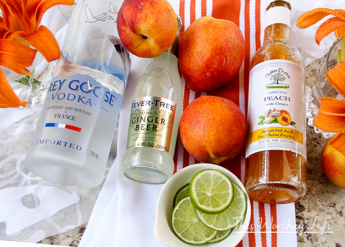 Summer Moscow Mule Idea