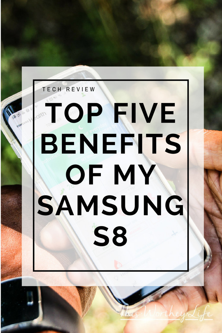 There are many great benefits of owning and using a Samsung Galaxy S8. Read my review of the Samsung Galaxy S8, the best benefits and why I love it!
