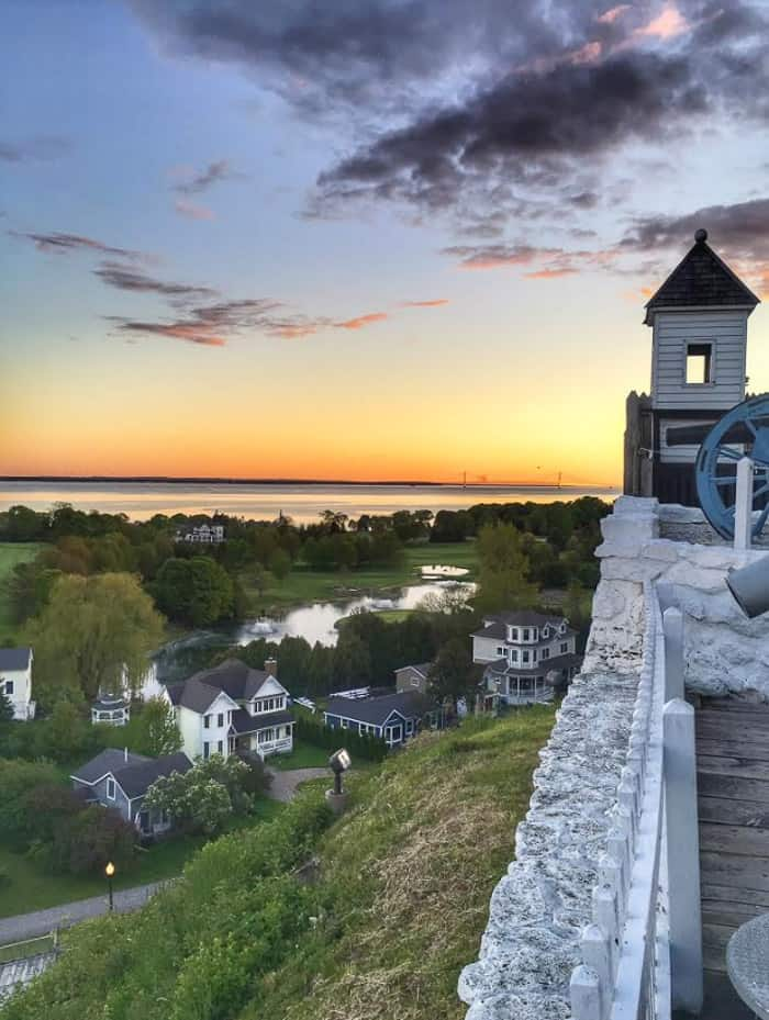 Fort Mackinac on Mackinac Island
