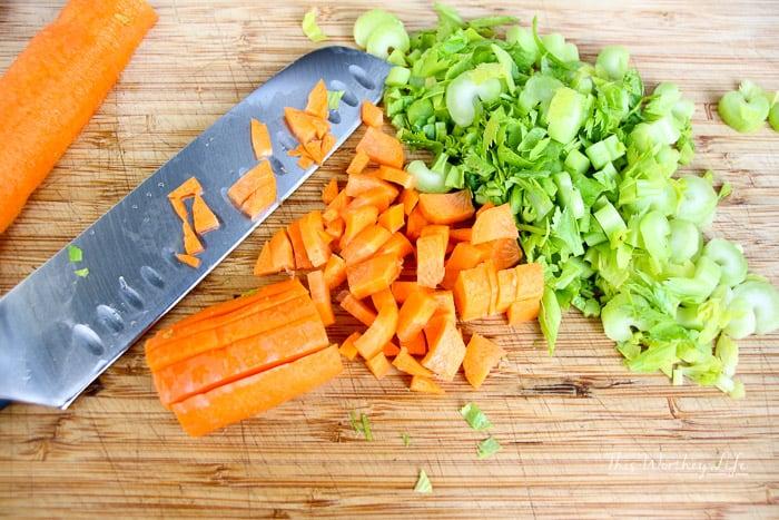 Potato + Kale Instant Pot Soup