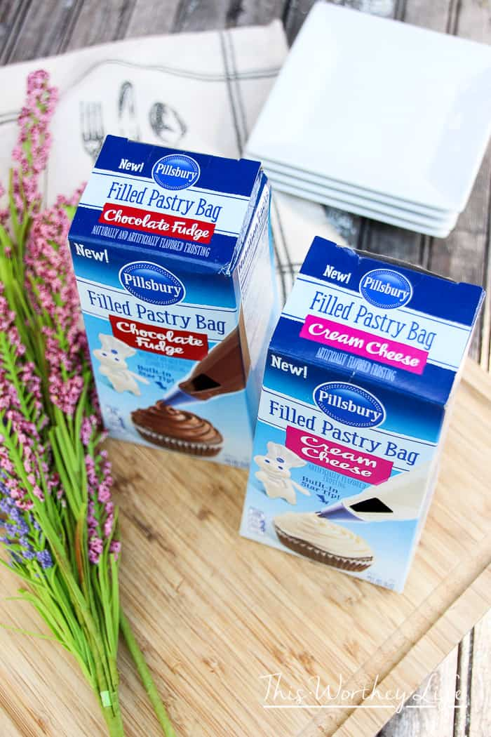 New Pillsbury Pastry Filled Bags products