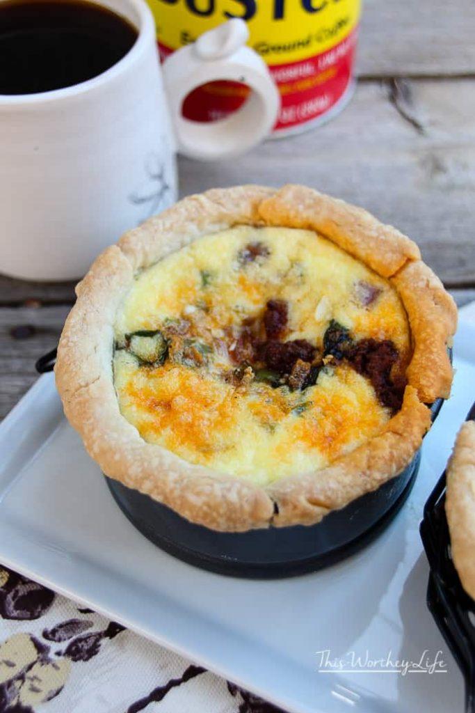 Easy Quiche Breakfast Recipe idea