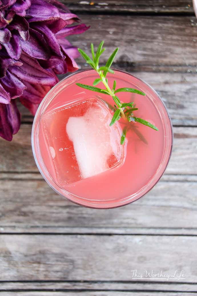 Summer Cocktail using Pomegranate