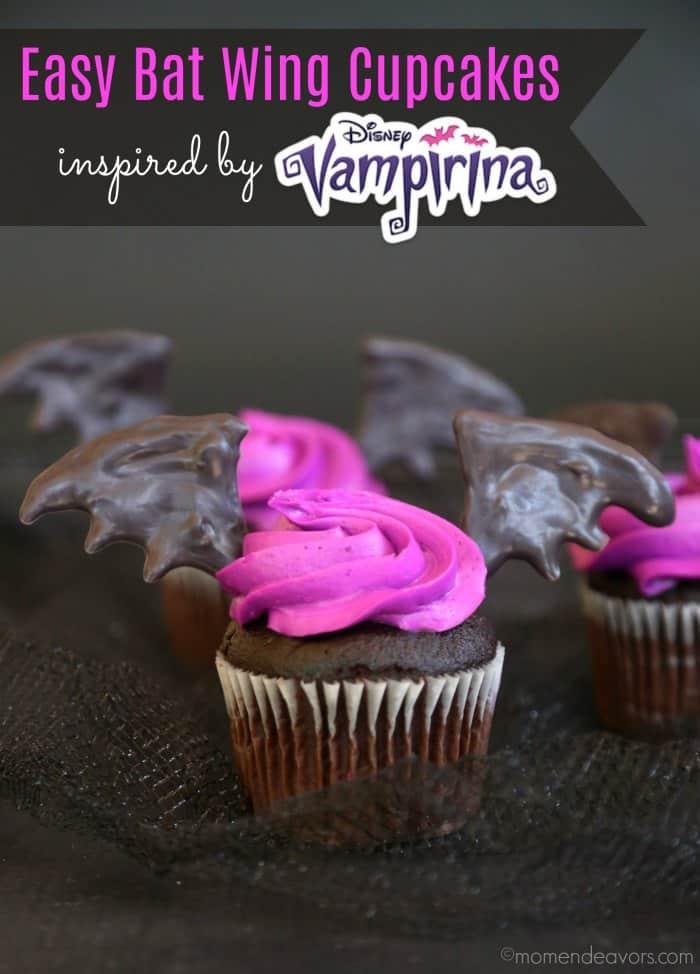 Disney-Vampirina-Bat-Wing-Cupcakes