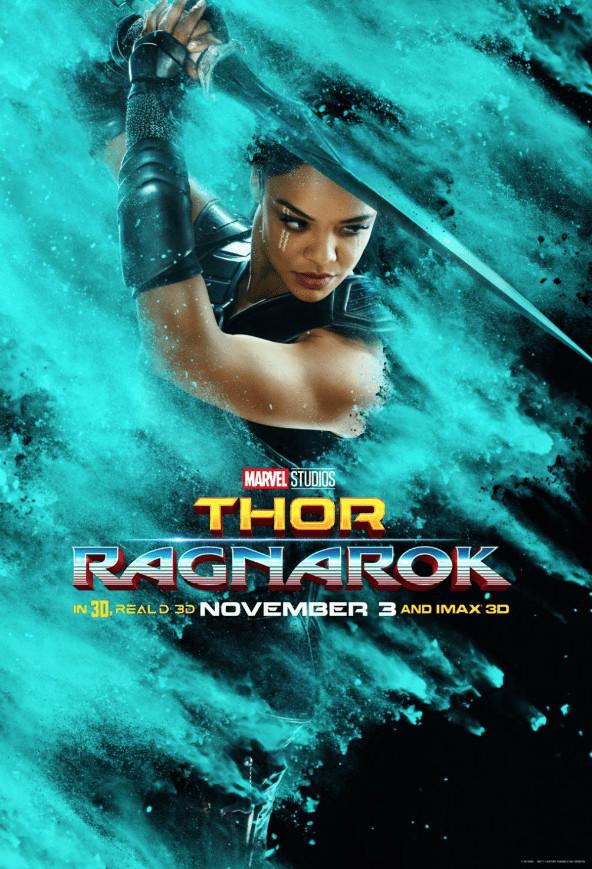 Tessa Thompson Valkyrie Thor Ragnarok