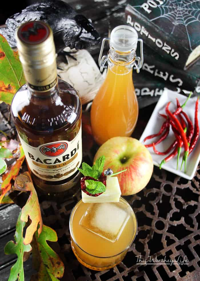 How to make a Spicy Rum Apple Cider