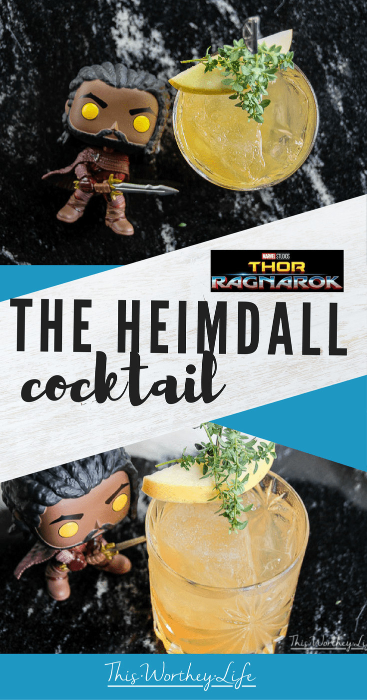 Thor Ragnarok | The Heimdall Cocktail