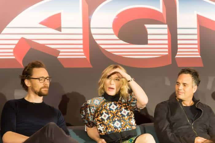 Thor Ragnarok Press Conference- Cate Blanchett