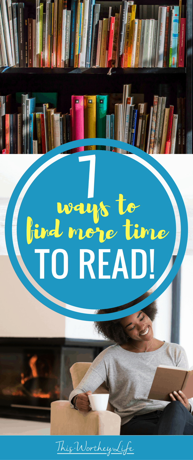 Finding the time to read these days can be a struggle. If you want to jump back into reading, but don't know where to find the time, read my tips on 7 ways to find more time to on the blog!