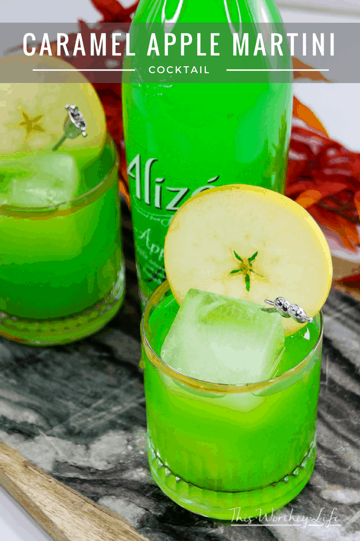 The holidays are here! As you prep for all of the upcoming festivities, don't forget to stock up on ingredients you need to make a Caramel Apple Martini