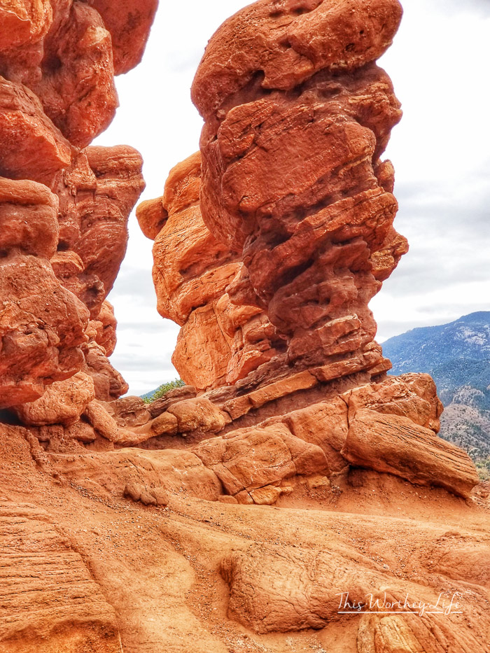 Gardens of the Gods in Colorado