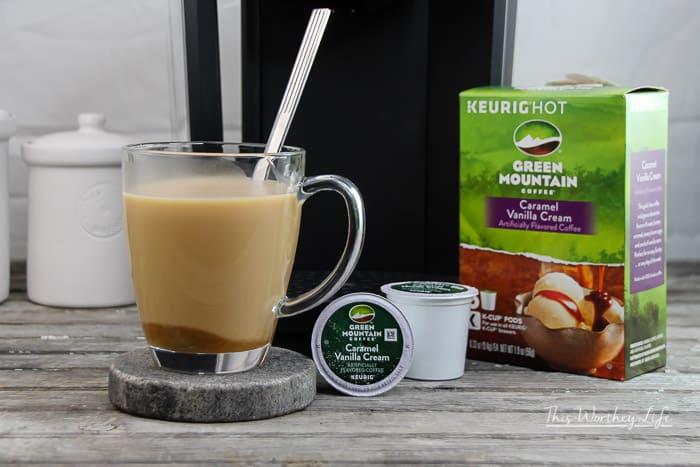 How to make Caramel Chai Coffee Latte