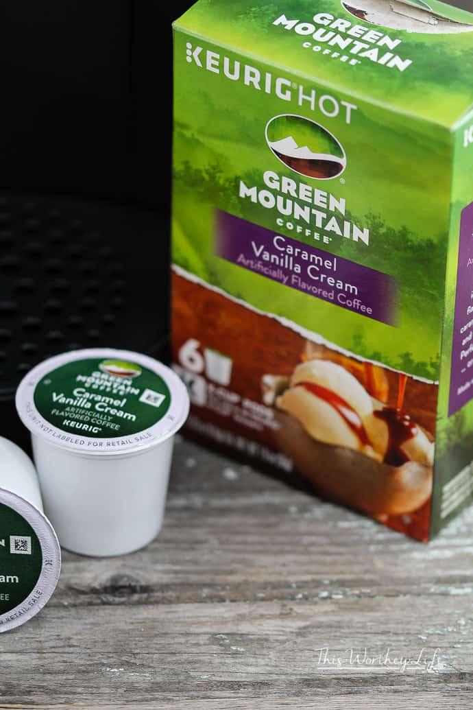 Caramel Chai Coffee Latte