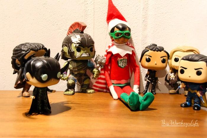 Marvel Elf on the Shelf Names