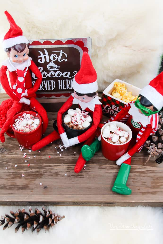 Elf on the Shelf- Hot Chocolate