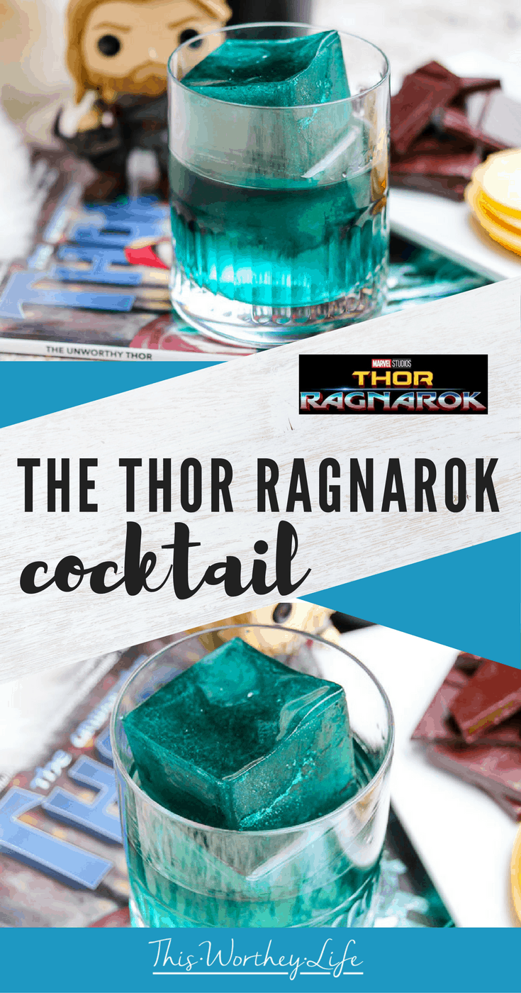 Celebrate the opening of Thor Ragnarok now in theaters with our Octomore Scotch inspired Thor Cocktail! Get the recipe for this delicious cocktail that involves scotch, apples, and chocolate down below!