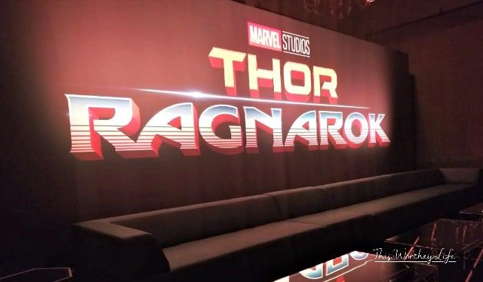 Thor Ragnarok Press Junkey