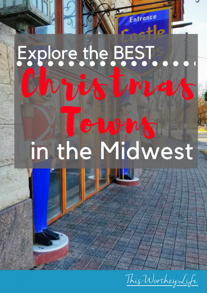 This holiday season, explore the best Christmas towns in the Midwest. Many may be in your backyard, full of holiday festivities and Christmas cheer.